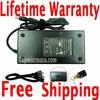 Toshiba Satellite A205-S4537 AC Adapter Power Charger with Power Supply cord