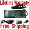 Toshiba Satellite P20-134, P20-204, P20-221 AC Adapter, Power Supply Cable