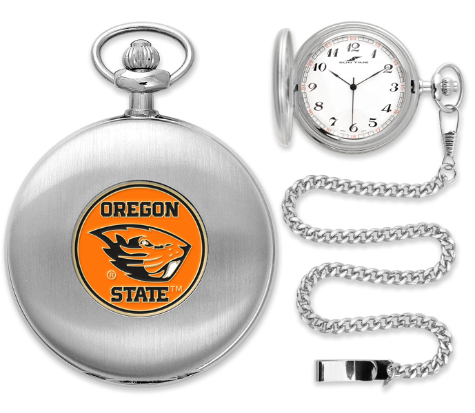 oregon state beavers pocket watch silver boise state logo coloring pic Boise State New Logo
