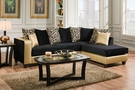 Ame Sectional Shimmer Gold - Chelsea Home Furniture 424124-07