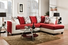Ame Sectional Stark White - Chelsea Home Furniture 424124-10-SEC