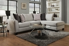 Annabelle Sectional Trounce Mica - Chelsea Home Furniture 730374-2PC-26393-TM