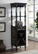 Anthony Wine Cabinet in Antique Black - Acme Furniture 97464