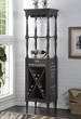 Anthony Wine Cabinet in Antique Gray - Acme Furniture 97460