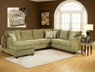 Bailey 3pc. Sectional - Chelsea Home Furniture 254400-SEC