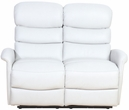 Barcalounger 29PH-3312 Kelso Power Reclining Loveseat w/ Power Head Rests in 3702-91 Wenlock Dove / Leather Match