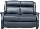 Barcalounger 29PH-3324 Warrendale Power Reclining Loveseat w/ Power Head Rests in 5700-47 Shoreham Blue / All Leather