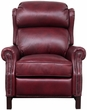 Barcalounger 7-3164 Thornfield Recliner in 5702-75 Wenlock Carmine / All Leather