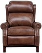 Barcalounger 7-3164 Thornfield Recliner in 5702-85 Wenlock Tawny / All Leather