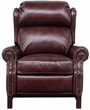 Barcalounger 7-3164 Thornfield Recliner in 5702-87 Wenlock Fudge / All Leather