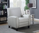 Barcalounger 7-3270 Willow Recliner in 5702-91 Wenlock Dove / All Leather