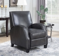 Barcalounger 7-3271 Huntsman Recliner in 5494-92 Wrenn Gray / All Leather