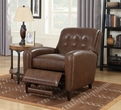 Barcalounger 7-3273 Willoughby Recliner in 5702-86 Wenlock Double Chocolate / All Leather
