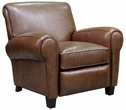 Barcalounger 7-3274 Edwin Recliner in 5702-86 Wenlock Double Chocolate / All Leather