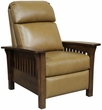 Barcalounger 7-3323 Mission Recliner in 5700-86 Shoreham Ponytail / All Leather