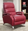 Barcalounger 7-4405 Giovanni Recliner in 3451-11 Stargo Red / Leather Match