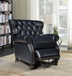 Barcalounger 7-4148 Presidential Recliner in 5700-47 Shoreham Blue All Leather
