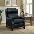 Barcalounger 7-3164 Thornfield Recliner in 5700-47 Shoreham Blue All Leather
