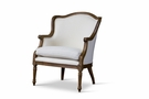 Baxton Studio Charlemagne Traditional French Accent Chair - ASS292Mi ASH2