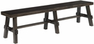 Brooke view Dining Bench Charcoal Mist - Chelsea Home Furniture 82BRV1470-CM-BCH