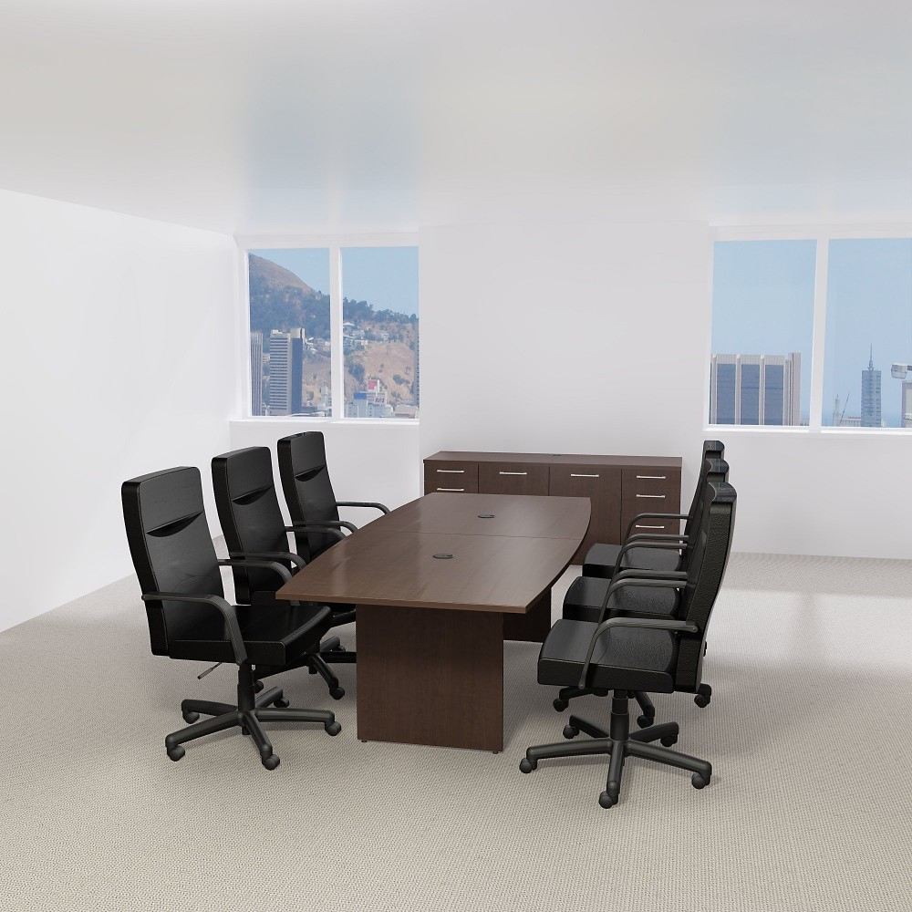 Bush Business Furniture TBMRK L X W Boat Top - 42 x 96 conference table