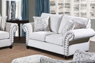 Camryn Loveseat Campbell Snow - Chelsea Home Furniture 781450-02-L-CS