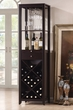 Casey Wine Cabinet in Wenge - Acme Furniture 12244