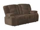 Charlie Casual Motion Loveseat - Coaster 600992