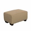 CorLiving LZY-868-O Lida Sectional Ottoman in Beige Fabric