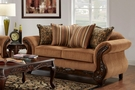 Cox Loveseat Florence Gold - Chelsea Home Furniture 477682-102-L-FG