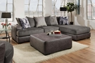 Cristofer 2 Piece Sectional Wesley Dove - Chelsea Home Furniture 730682-2PC-RMSS-SEC-WD