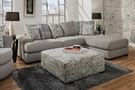 Dangelo 2 Piece Sectional Sheridan Putty - Chelsea Home Furniture 730685-2PC-GENS-SEC-SP