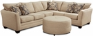 Darby 2 pcs. Sectional - Chelsea Home Furniture 631250-SEC-TBG