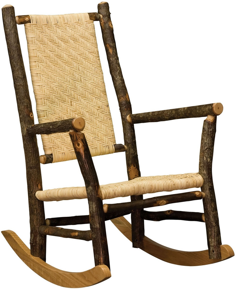Ean Grandpa Rocker W/ Caned Back Natural Finish   Chelsea Home Furniture  420 1117