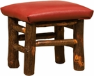 Earl Child Foot Stool Oak Stained - Chelsea Home Furniture 420-1157