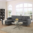 Empress Left-Arm Sectional Sofa EEI-1666-DOR (Shipping Included)