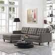 Empress Left-Arm Sectional Sofa EEI-1666-GRA (Shipping Included)