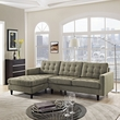 Empress Left-Arm Sectional Sofa EEI-1666-OAT (Shipping Included)