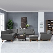 Engage 5 Piece Sectional Sofa in Gray - East End Imports EEI-2186-GRY-SET (Shipping Included)