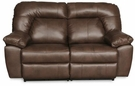 Grant Reclining Side by Side Loveseat Brown - Chelsea Home Furniture 732410-W2L-0410-37826-B