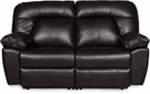 Grant Reclining Side by Side Loveseat Dark Brown - Chelsea Home Furniture 732410-W2L-0410-37829-DB