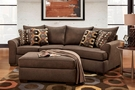 Griffiths 2 Piece Sectional Essence Earth - Chelsea Home Furniture 195750-2PSEC-EE