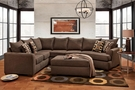 Griffiths 3 Piece Sectional Essence Earth - Chelsea Home Furniture 195752-3PSEC-EE
