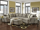 Griffiths Sectional Essence Platinum - Chelsea Home Furniture 195752-3PSEC-EP