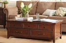 Harbor House Brandon Coffee Table in Brown - Olliix HH120-0057