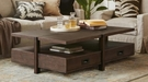 Harbor House Cornell Coffee Table in Brown - Olliix HH120-0096