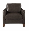 Harbor House Donovan Leather Lounge in Brown - Olliix HH100-0115