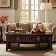 Harbor House Montclair Coffee Table in Brown - Olliix HH120-0042