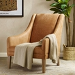 Harbor House Norse Leather Accent Chair in Beige - Olliix HH100-0121