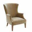 Harbor House Sergio Wing Back Accent Chair in Brown - Olliix HH100-0136